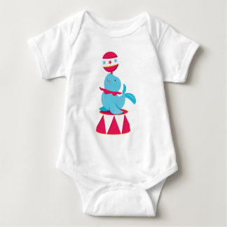 Circus Baby Seal Baby Bodysuit
