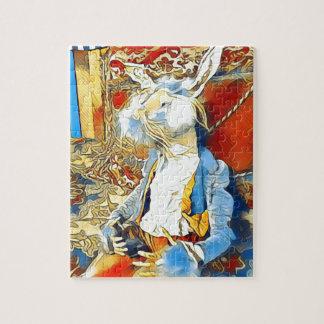 Circus Bunny Jigsaw Puzzle