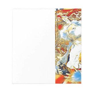 Circus Bunny Notepad