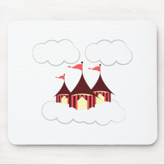 Circus Clouds Mouse Pad