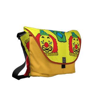 circus clown courier bags
