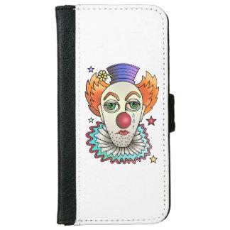 Circus Clown iPhone 6 Wallet Case