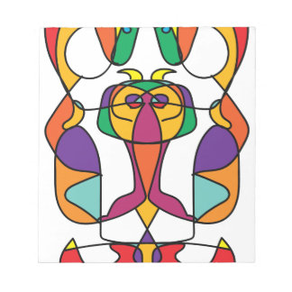 circus colorful art illustration noa notepad