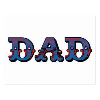 Circus Dad Postcard