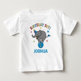 Circus Elephant 1st Birthday T-shirt