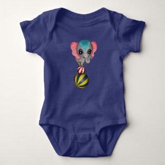 Circus Elephant Baby Bodysuit