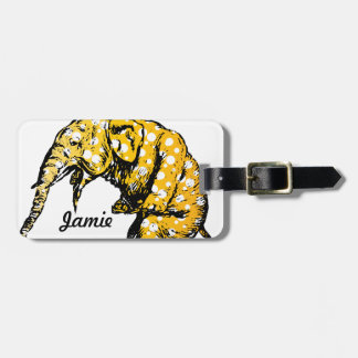 Circus Elephant Gifts Luggage Tag