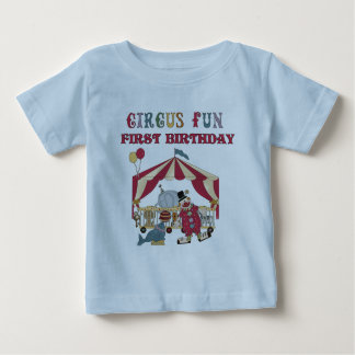 Circus First Birthday Tshirts and Gifts