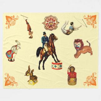 Circus Fleece Blanket
