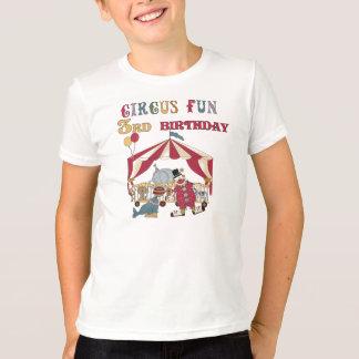 Circus Fun 3rd Birthday T-Shirt