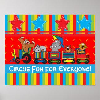 Circus Fun for Everyone Poster