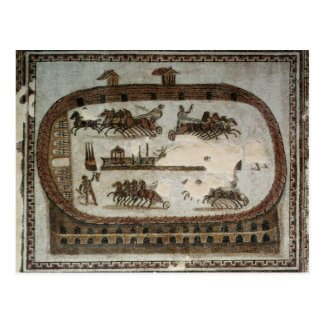 Circus Games, from Carthage, Roman Postcard