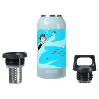 Circus Girl Insulated Water Bottle