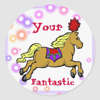 Circus Horse Reward Sticker