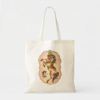Circus Horse Tote Bag