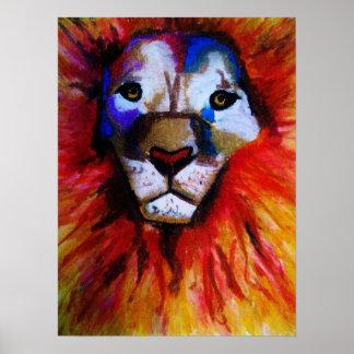 Circus Lion poster