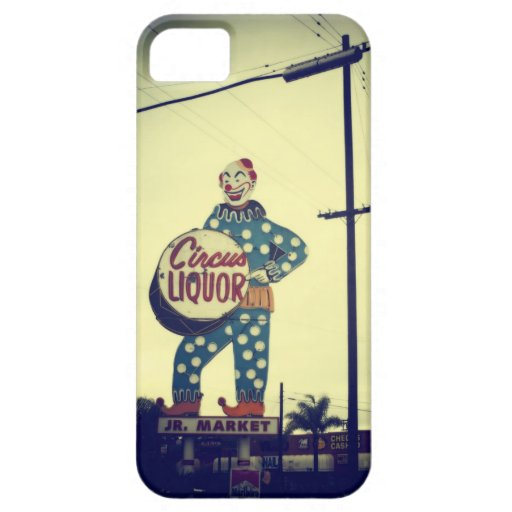 Circus Liquor iPhone 5 Covers