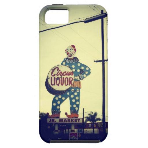 Circus Liquor iPhone 5 Case