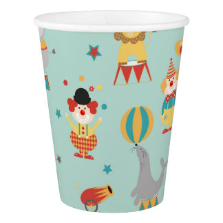 Circus Paper Cup