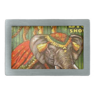Circus Poster Belt Buckle
