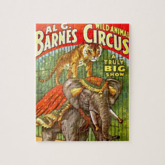 Circus Poster Jigsaw Puzzle