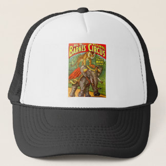 Circus Poster Trucker Hat