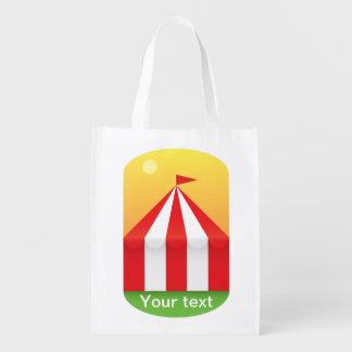 Circus Reusable Grocery Bag