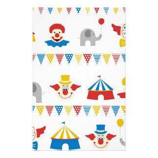 Circus Stationery