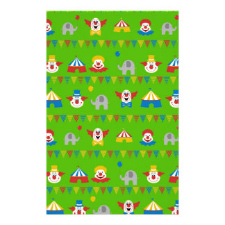 Circus Stationery Paper