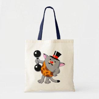Circus Strong Cat Budget Tote Bag