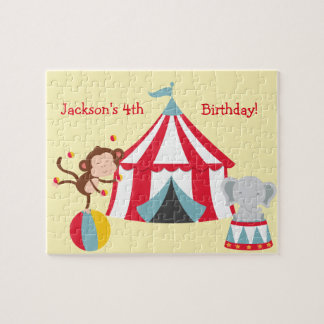 Circus Themed Puzzle- Birthday Gift Idea Jigsaw Puzzle