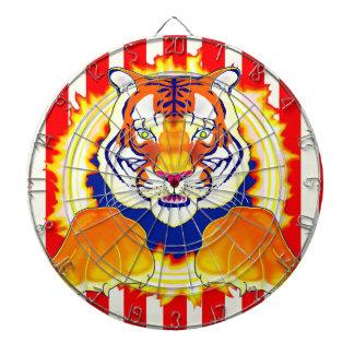 Circus Tiger dartboard game