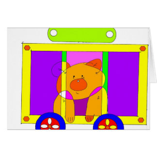 circus wagon 300dpi card