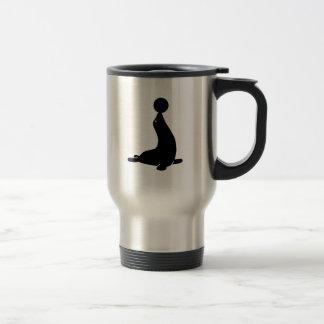 Circus zoo seal ball coffee mug