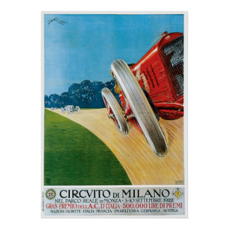 Circvito di Milano Poster
