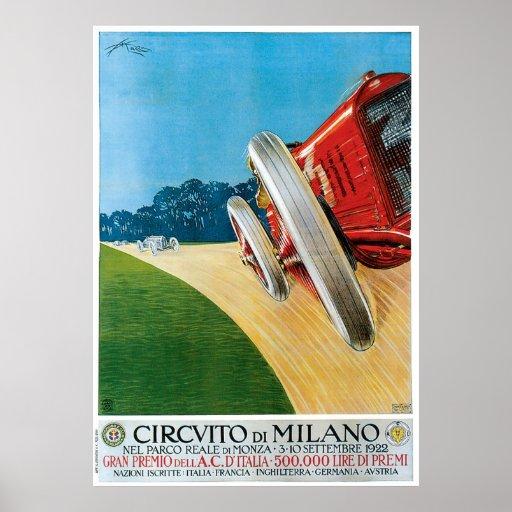 Circvito di Milano Print