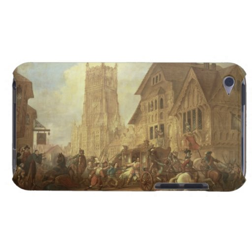 Cirencester Market Place, with the Abbey and the K iPod Touch Cover