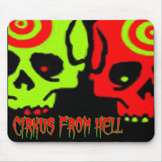 CIRKUS FROM HELL SKULL MOUSE PAD