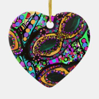Cirque du Art Ceramic Ornament