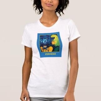 """""""Cirque Mère Et Enfant"""" (on blue) by Zermeno T-Shirt"""