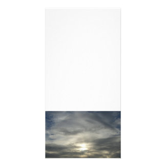 Cirrostratus Clouds Personalized Photo Card