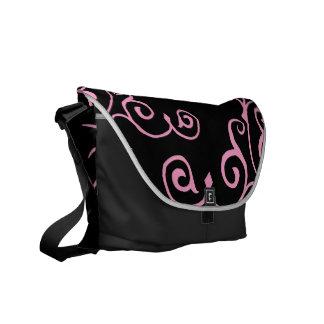 Cirrus Ebony (Pink) Messenger Bag