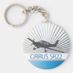 Cirrus SR22 Keychains