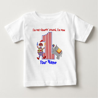 Cirus Clown 1st Birthday Shirt