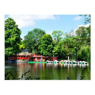 Cismigiu Park in Bucharest, Romania Postcard