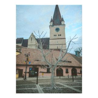 Cisnadie clock tower Romania Personalized Announcement