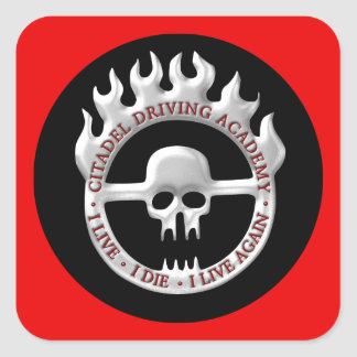 Citadel Driving Academy Square Sticker