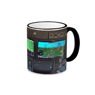 Citation M2 Instrument Panel Coffee Mug