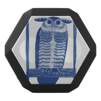 Cite Modern Owl In Blue Black Bluetooth Speaker