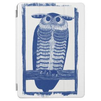 Cite Modern Owl In Blue iPad Air Cover